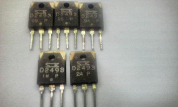 Transistor 2sd2493 Npn Darlington Kit 5 Peças