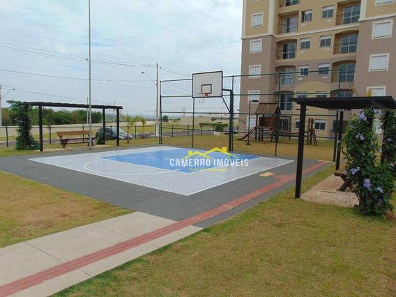 Apartamento Com 2 Dormitórios Para Alugar, 55 M² Por R$ 760,00/mês - Jardim Firenze - Santa Bárbara D
