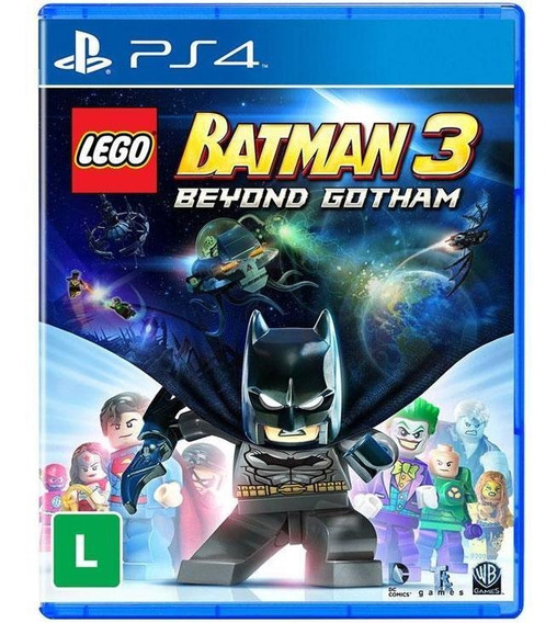 Lego Batman 3 Beyond Gotham Ps4 Mídia Fìsica Novo Lacrado