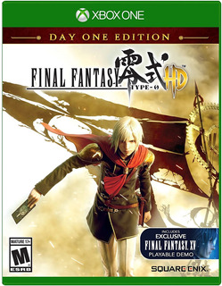 Final Fantasy Type-0 Hd - Xbox One Fisico Sellado