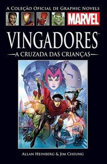 Hq Graphic Novel Marvel - Vingadores A Cruzada Das Criancas