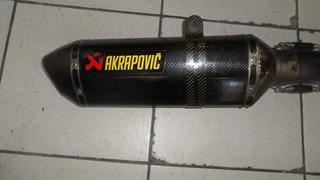 Escapamento Akrapovic Todo Em Titanio Para Kawasaki Zx 10 R