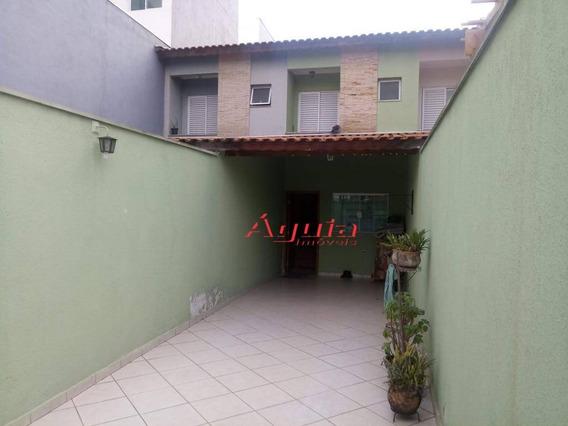 Sobrado Com 2 Dormitórios À Venda, 120 M² Por R$ 380.000 - Jardim Santo Alberto - Santo André/sp - So0191