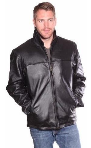 Jaqueta Importada Masculina Elegante Luxuosa Couro Legítimo