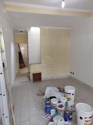 Sobrado Com 2 Dorms, Centro, São Vicente - R$ 275 Mil, Cod: 2224 - V2224