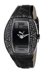 Relógio Feminino Puma Pedras Pretas Pu101172001