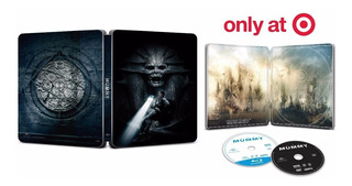 Blu-ray + Dvd The Mummy / La Momia (2017) Steelbook