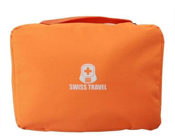 Bolsa Cosmetiquera De Baño Poliester Swiss Travel Envio Grat