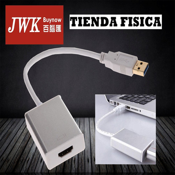 Usb 3.0 A Hdmi Video Display Adaptador Jwk