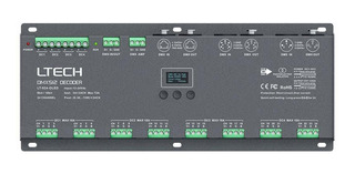 Luces Ltech Lt-924-oled 24 Channel Cv Dmx Rdm Digital Pwm ®