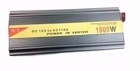 Inversor De Tensão 12v P/ 110v 1000w Onda Modificada + Frete