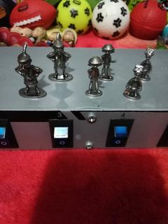 Figuras Metalicas Hey Arnold Paquete 6 Piezas
