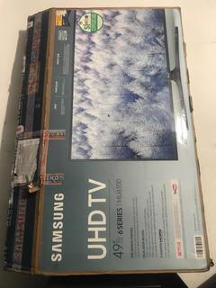 Caja Para Tv Samsung De 49 Series 6 Sin Icopores