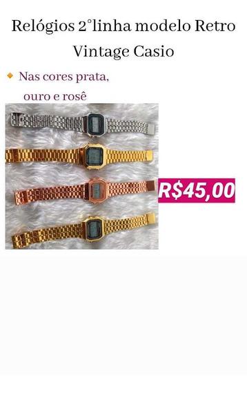 Relógios G-shock 1°linha, Casio, adidas, Ck E Mk 2° Linha
