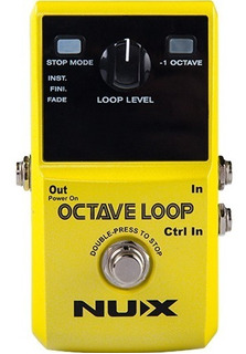 Nux Octave Loop Pedal Looper Con Octavador