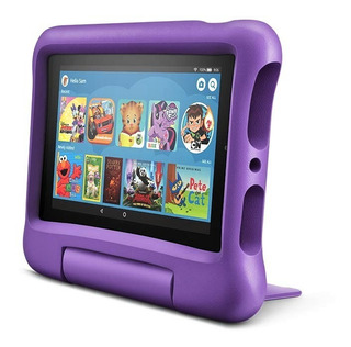 Tablet Amazon Fire 7 Kids Edition 16gb Funda P/niños Violeta