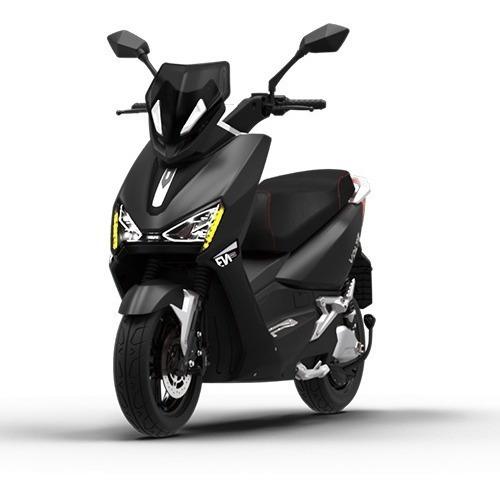 Imagem 1 de 8 de Scooter Moto Elétrica Voltz Ev1 Sport Preta - Uma Bateria