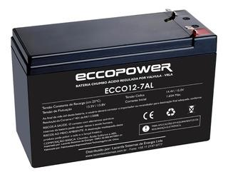 Bateria Selada 12v 7a Cftv Alarme Cerca Elétrica Nobreak Som