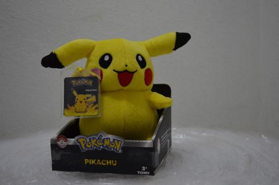 Pokemon Pelúcia Pikachu 23cms Original Tomy *pronta Entrega*