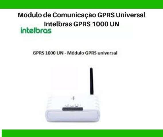 Módulo De Comunicação Gprs Universal Intelbras Gprs 1000 Un