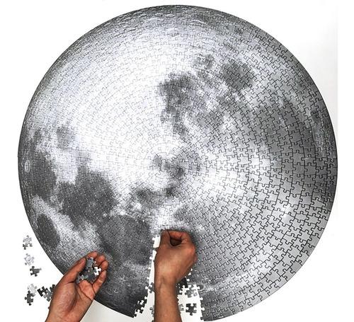 Rompecabezas De 1000 Piezas Luna Circular
