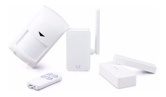 Central De Alarme Broadlink S1 Wifi Automação Residencial