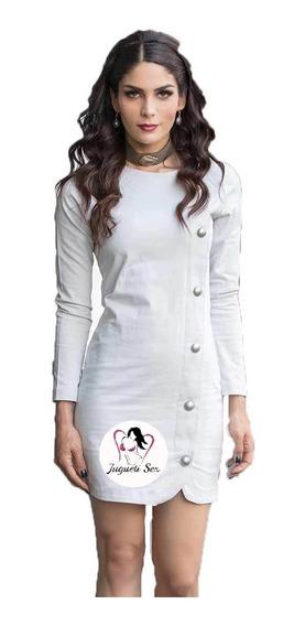 Vestido Estilo Abrigo Entallado Sexy Moda Coreana Mod.r260