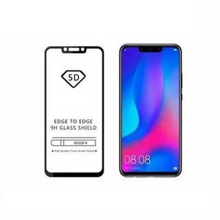 Vidrio Templado 5d Para Huawei P20 Lite Color Negro