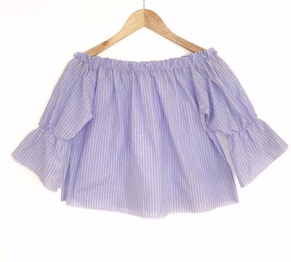 Paisana Mujer Paisanita Rayas Camisa Mujer