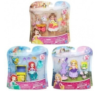 Princesas Muñeca Disney Con Accesorios Original Hasbro