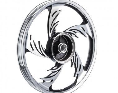 Roda Aluminio Traseira Temco Orion Crom/pto Cg 125 2009/