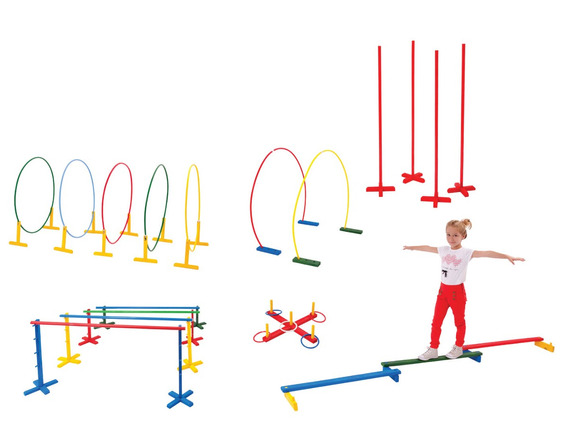 Brinquedos Educativos - Linha De Movimentação Ativa 63 Peças