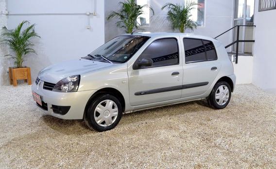 Renault Clio Pack 1.2 Gris Nafta 2007 En Muy Buen Estado!!