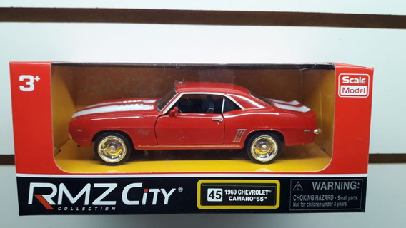 Autos Rmz City M 1:32 1969 Chevrolet Camaro Sobreruedasjugue