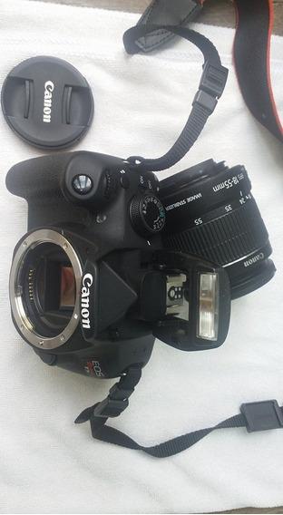 Imperdível! Câmera Canon Rebel T5 Perfeito Estado + Objetiva