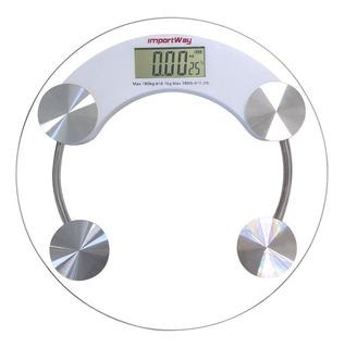 Balança Digital Banheiro Academia Até 180kg Consultório