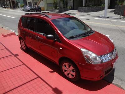 Nissan Livina 1.6 S 16v Flex 4p Manual 2012