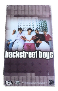 Backstreet Boys For The Fans Bsb Vhs 2000 Zomba Recording