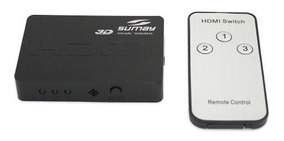Switch Hdmi Mini Sumay Sm-sw300 3x1 Hispeed A8