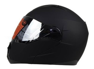 Casco Abatible R7 168 Lente Interno Cerificado Dot Ngo/mate