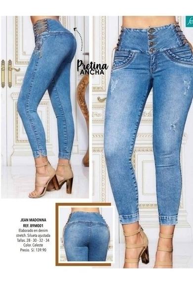 Pantalones Jeans Strech Para Mujeres Mercadolibre Com Pe