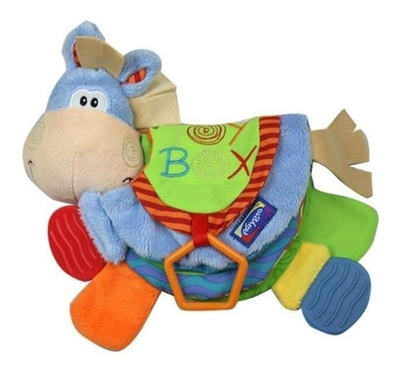 Libro Mordillo Clip Clop Teether Playgro
