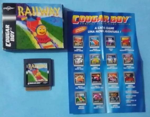 Railway Cougar Boy Completo Novo Na Caixa Impecável Original