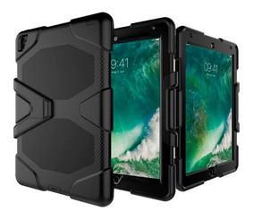Capa iPad Pro 12.9 2017 Skudo Survivor Anti Impacto Com Peli