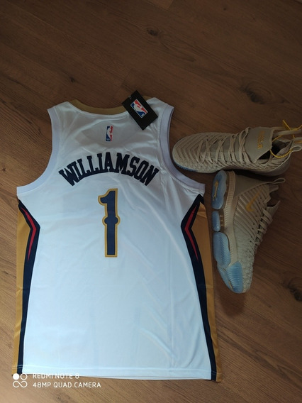 Tênis Lebron James + Regata Nba New Orleans