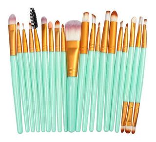 Set 20 Brochas Mini Para Maquillaje