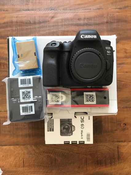 Canon Eos 6dmkii Usada 5300 Clicks (leia O Anúncio)