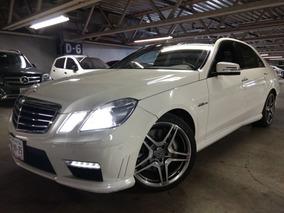 Mercedes Benz E63 Amg 2011 Blanco