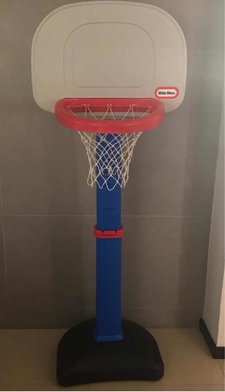 Cesta De Basketball Para Niños Little Tikes Original