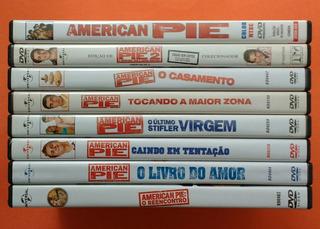 Dvd American Pie - 8 Filmes - Coleção Completa